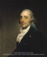 Charles Lee (Gentleman of the Lee Family) by Gilbert Stuart