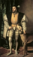 Charles Quint painting reproduction, Jacob Seisenegger