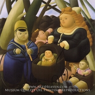 Children Fortunes by Fernando Botero