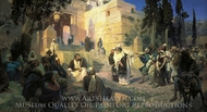 Christ and Sinner painting reproduction, Vasiliy Polenov