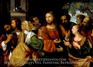 Christ and the Women of Canaan painting reproduction, Rocco Marconi