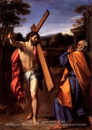 Christ Appearing to Saint Peter on the Appian Way painting reproduction, Annibale Carracci
