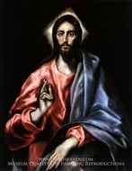 Christ as Saviour by El Greco
