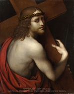 Christ carrying his Cross painting reproduction, Giampietrino
