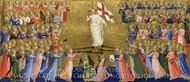 Christ Glorified in the Court of Heaven painting reproduction, Fra Angelico