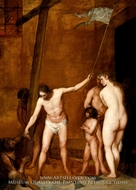 Christ in Limbo painting reproduction, Alonso Cano