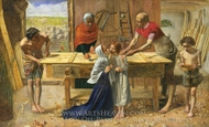 Christ in the House of His Parents painting reproduction, John Everett Millais