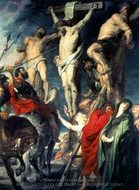 Christ on the Cross painting reproduction, Peter Paul Rubens