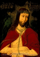 Christ with the Crown of Thorns painting reproduction, Master of Osma
