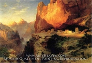 Cliff Dwellers by Thomas Moran