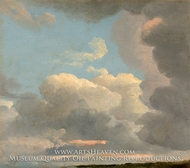 Cloud Study (Early Evening) by Simon Denis