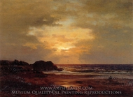 Coast Scene painting reproduction, George Inness