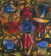 Collection of Figurines painting reproduction, Paul Klee