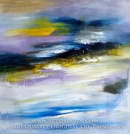 Color Abstract 3 painting reproduction, Various Artist