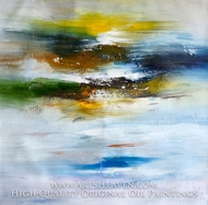 Color Abstract 4 painting reproduction, Various Artist