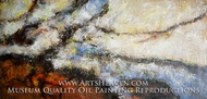 Colorful Abstract Pattern painting reproduction, Various Artist