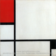 Composition, 1929 by Piet Mondrian