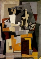 Composition by Pablo Picasso (inspired by)