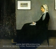 Composition in Black and Grey, the Artist's Mother by James McNeill Whistler