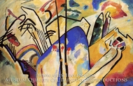 Composition IV by Wassily Kandinsky