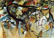 Composition V painting reproduction, Wassily Kandinsky