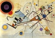 Composition VIII (No. 8) by Wassily Kandinsky