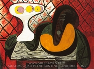 Compotier et Mandoline painting reproduction, Pablo Picasso (inspired by)