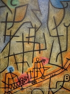Conquest of the Mountain by Paul Klee