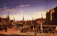 Copenhagen painting reproduction, Heinrich Hansen