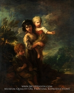 Cottage Children (The Wood Gatherers) by Thomas Gainsborough