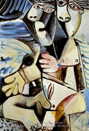 Couple by Pablo Picasso (inspired by)
