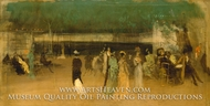 Cremorne Gardens, No. 2 by James McNeill Whistler