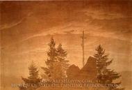 Cross in the Mountains painting reproduction, Caspar David Friedrich