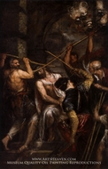 Crowning with Thorns painting reproduction, Titian