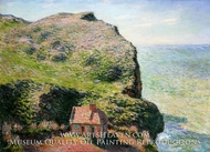 Customhouse, Varengeville by Claude Monet