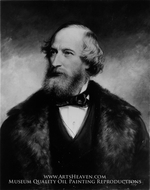 Cyrus W. Field by Daniel Huntington
