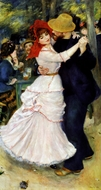 Dance at Bougival painting reproduction, Pierre-Auguste Renoir
