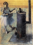 Dancer Resting painting reproduction, Edgar Degas