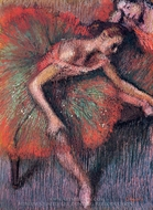 Dancers painting reproduction, Edgar Degas