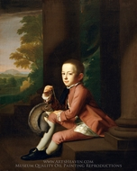 Daniel Crommelin Verplanck painting reproduction, John Singleton Copley