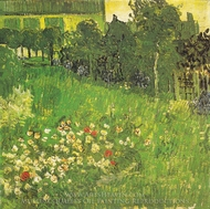Daubigny's Garden painting reproduction, Vincent Van Gogh