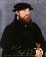 De Vos van Steenwijk painting reproduction, Hans Holbein, The Younger