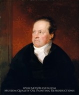 De Witt Clinton painting reproduction, Samuel F. B. Morse