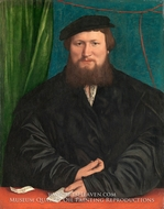 Derick Berck of Cologne by Hans Holbein, The Younger