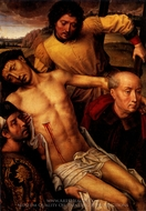 Descent from the Cross painting reproduction, Hans Memling