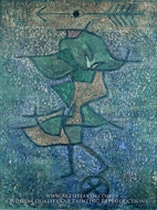 Diana by Paul Klee