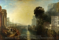 Dido Building Carthage painting reproduction, Joseph Mallord William Turner