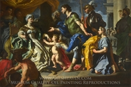 Dido Receiving Aeneas and Cupid Disguised as Ascanius painting reproduction, Francesco Solimena