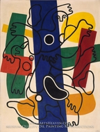 Divers, Blue and Black by Fernand Leger