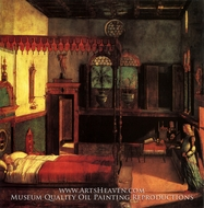 Dream of St. Ursula painting reproduction, Vittore Carpaccio